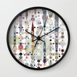 Up on the Hill Wall Clock
