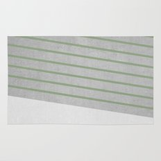 Concrete & Stripes II Rug