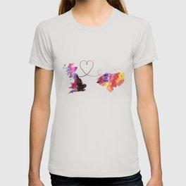 Britain to Honduras  Quote Art Design Inspirationa T-shirt