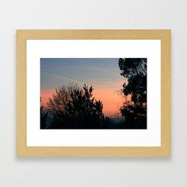 Dawn From My Window Framed Art Print