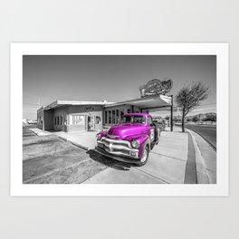 Pink D'z  Art Print
