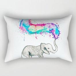 Spray of colour! Rectangular Pillow