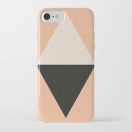 Minimalist Polygon III iPhone Case