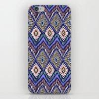 ikat iPhone & iPod Skins featuring IKAT by Isabella Salamone