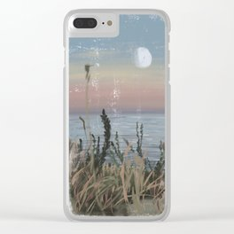 Moonshine Clear iPhone Case