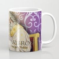 posters Mugs featuring Inspirational Posters/Cards by Regina Caeli Art