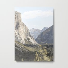 El Capitan Yosemite National Park Photo | California USA View Art Print | Nature Travel Photography Metal Print