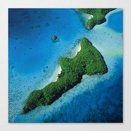 Angel Serenity Island: Palau Tropical Paradise Canvas Print