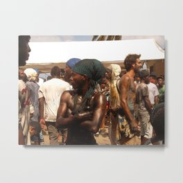 Jab Jab in Carriacou Metal Print