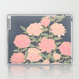 Pink peonies vintage pattern Laptop & iPad Skin