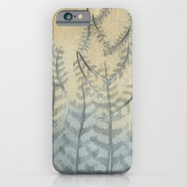 Feathers. Piume iPhone Case