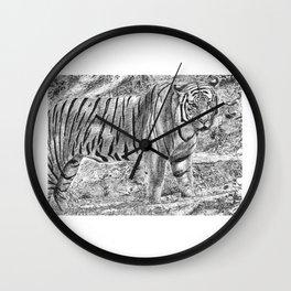 Malayan Tiger (Harimau) Wall Clock