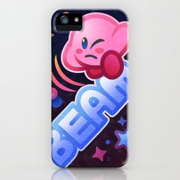 Kirby Beam iPhone Case