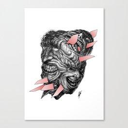 Hedgehog's Dilemma Canvas Print