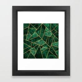 Deep Emerald Framed Art Print