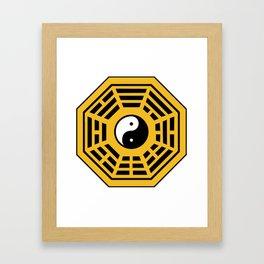 Yin Yang Bagua Framed Art Print