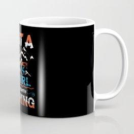 Just a Fishing Girl in love with Fishing Coffee Mug