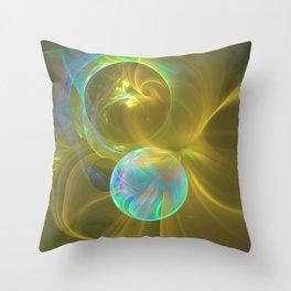 Eclipsing Spheres Throw Pillow
