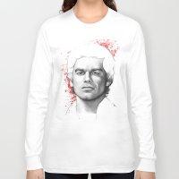 dexter Long Sleeve T-shirts featuring Dexter  by Olechka