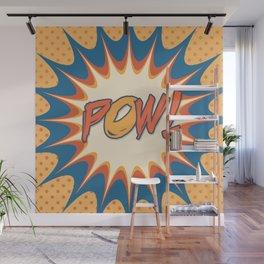 POW! Polka Dot Vintage Graphic Novel Art Wall Mural