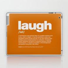 definition LLL - Laugh 10 Laptop & iPad Skin