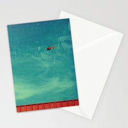 red carpet in the sky Stationery Cards