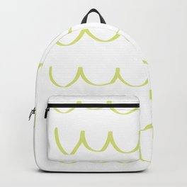 Citron Green Waves Backpack