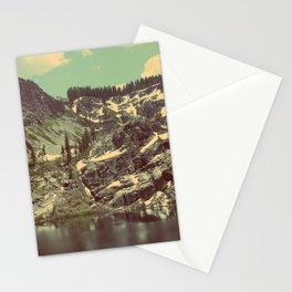 high sierras  Stationery Cards
