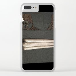 Free Vertical Composition # 431 Clear iPhone Case