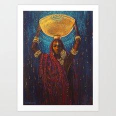Divine Duty Art Print