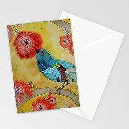 souvenir d'une nuit paisible Stationery Cards
