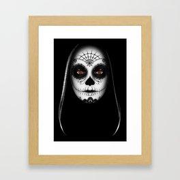 Das Gesicht Framed Art Print