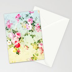 VINTAGE FLOWERS II - for iphone Stationery Cards