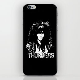 Johnny Thunders iPhone Skin