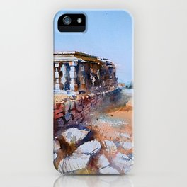 The serenity of Hampi iPhone Case
