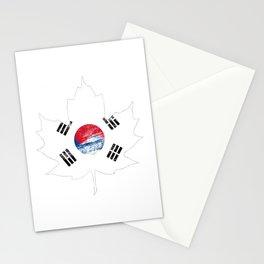 Korea/Canada Stationery Cards