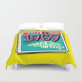 Lousy With Hippies (PAR102) Duvet Cover