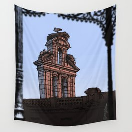 Bell Gable (color) Wall Tapestry
