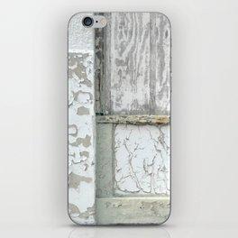 white peeling paint iPhone Skin