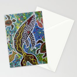 The Whale's Awakening Stationery Cards