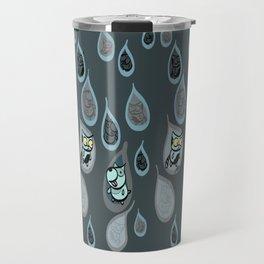 Rain Like Cats and Dogs - remix Travel Mug