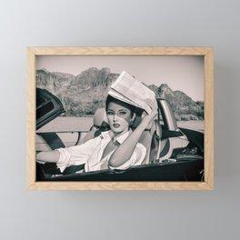 0079 Natasha's Apache Trail Summer Adventure Road Trip Framed Mini Art Print