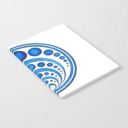 RadialDesignBlue Notebook