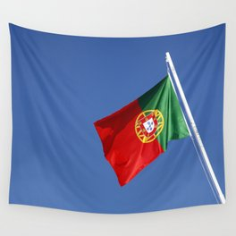 Portuguese national flag Wall Tapestry