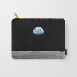 Earth rise over the Moon Carry-All Pouch