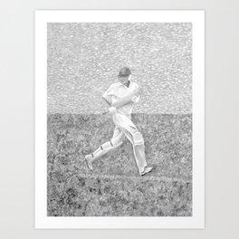The Batsman II Art Print