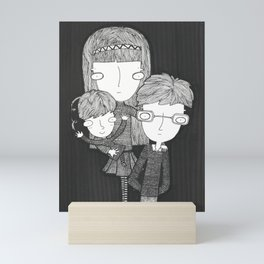 The Baudelaire orphans Mini Art Print