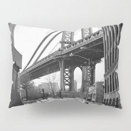 Down Under The Manhattan Bridge Overpass Pillow Sham