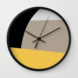 Mid Century Minimal 5 Wall Clock
