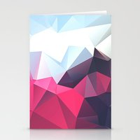 playstation Stationery Cards featuring Polygonal by eARTh